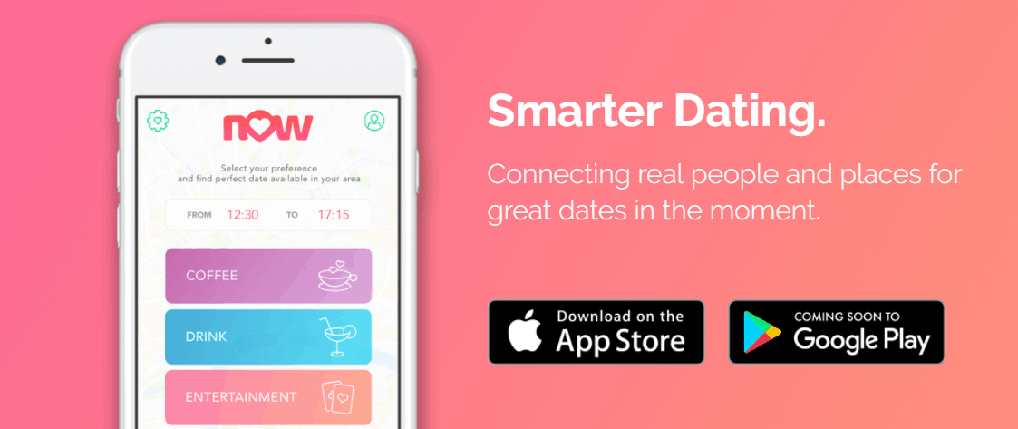 NOW Dating App Let's You Date… Now!