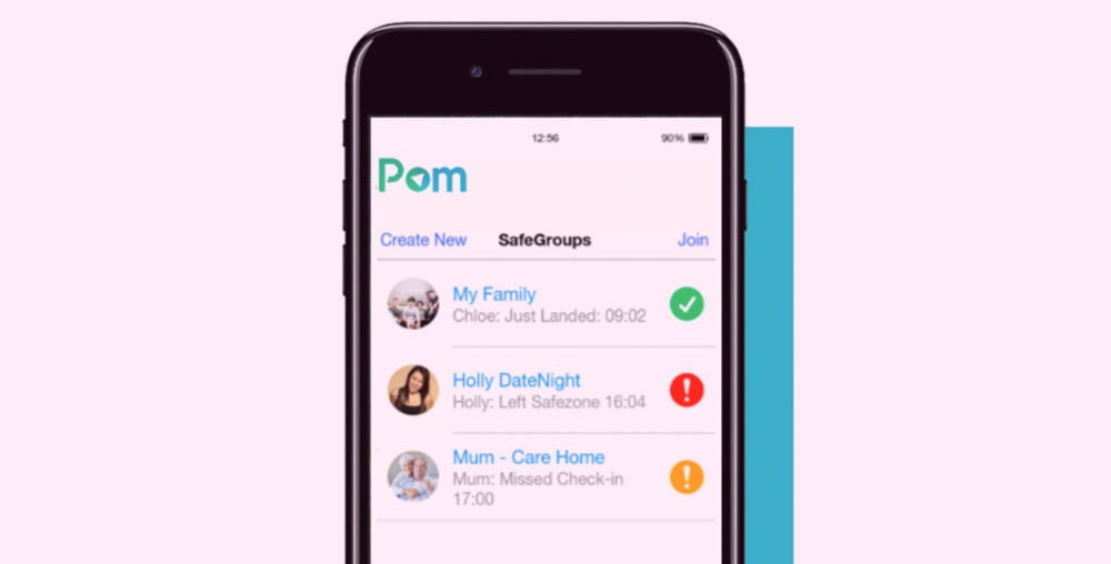 POM: The New App To Keep You Safe On A Date