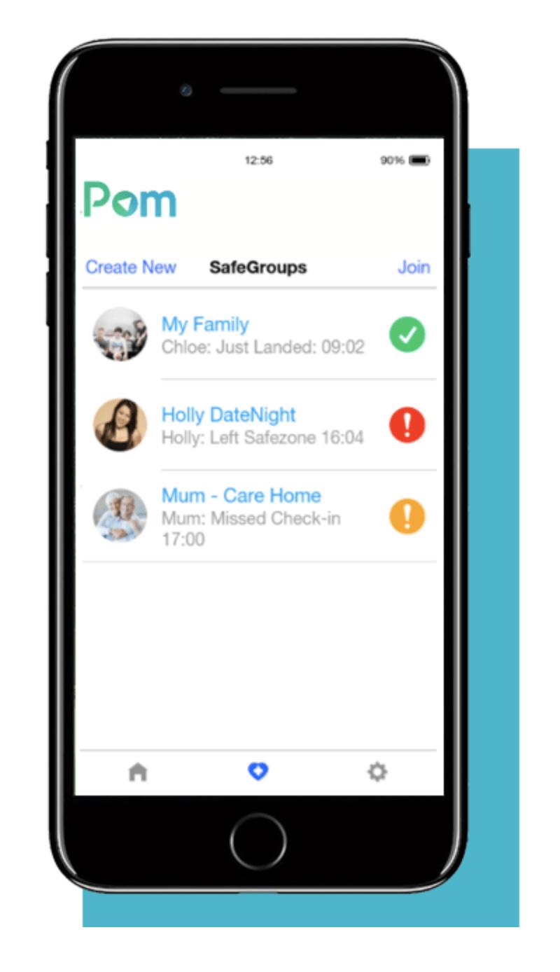 Pom Safety App