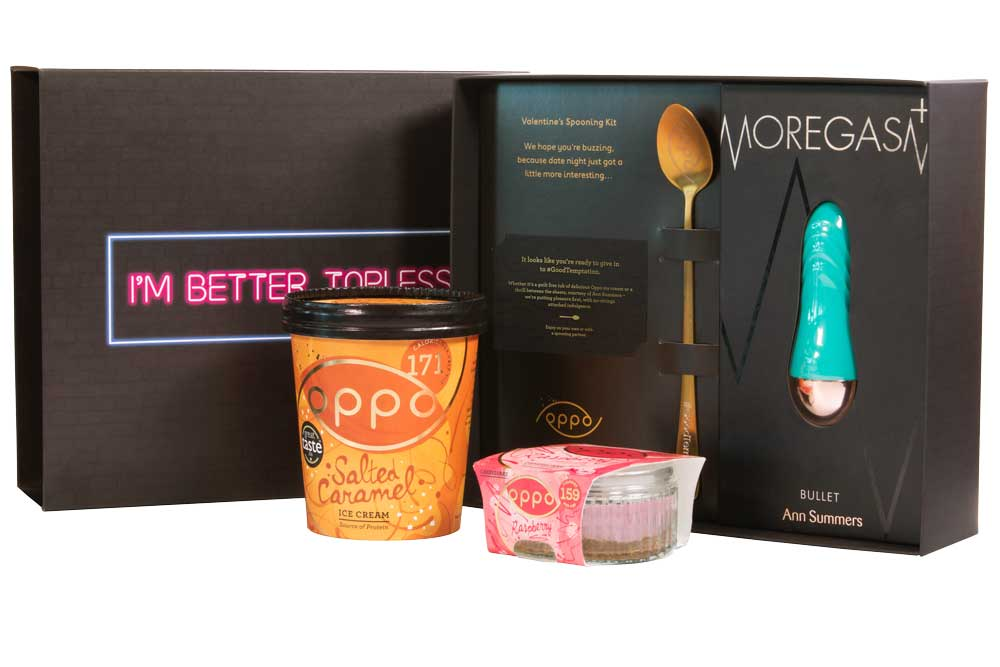 Oppo Ice Cream with Ann Summers